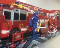 Игровой набор с фигурками Пожарная служба