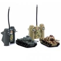 Радиоуправляемый танковый бой Т-34 1:38