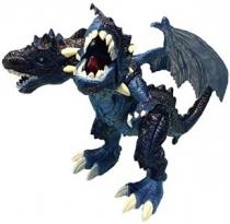 Интерактивный двухголовый робот дракон RCR-018 JoyD Хищник Синий