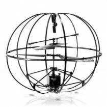 Радиоуправляемый вертолет в шаре HappyCow Robotic UFO 777-286 с гироскопом