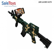 Автомат Intelligent ar gun AR47-1 с дополнительной реальностью Camouflage green