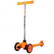 Детский трёхколёсный самокат 21st scooter mini Оранжевый