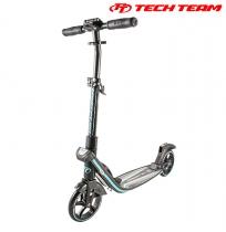 Двухколёсный самокат Tech Team TT Concept 180 мм складной Черно-берюзовый