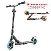 Двухколёсный самокат Tech Team TT Jogger 145 2020 Черно-бирюзовый