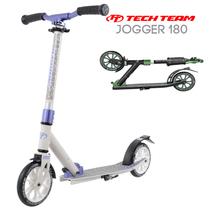 Двухколёсный самокат Tech Team TT Jogger 180 2020 Бело-фиолетовый