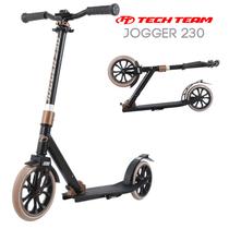 Двухколёсный самокат Tech Team TT Jogger 230 2020 Черно-бронзовый