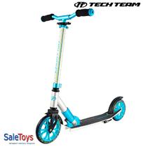 Двухколёсный самокат Tech Team TT Sport 180 мм 2018 Серо-голубой
