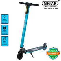 Электросамокат Micar Pulsar Mini 24V 4.4Ah Blue