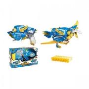 Игрушка Динобот трансформер Птерозавр Dinobots 2 в 1 пистолет и робот динозавр