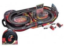 Игрушка Автотрек параллельные гонки с гоночными машинками Hua Dong с ручным генератором