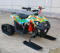 Детский Квадроцикл-снегоход, вездеход MICAR Mini Snow 3 в 1 бензиновый 63 см3 Бомбер