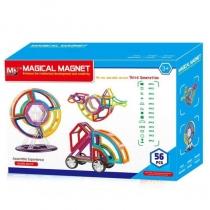 Конструктор магнитный MAGICAL MAGNET 56 деталей