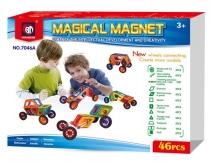 """Конструктор магнитный MAGICAL MAGNET """"Транспорт"""" 46 деталей"""
