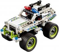"""Конструктор машинка (аналог Lego Technik 42047) """"Полицейский патруль"""" Decool 185 деталей"""
