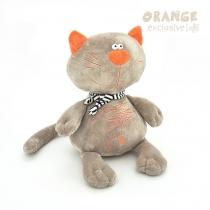 Кот Батон 30см серый Orange MC2370/30B