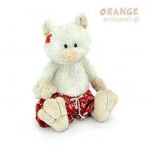 Котяра в семейных трусах 35 белый Orange