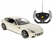 Машинка Ferrari FF (феррари) на радиоуправлении 1:14 Rastar белая