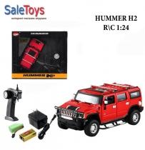 Машинка на радиоуправлении Hummer H2 1:24 Металл