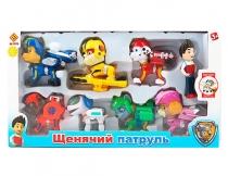 Набор игровой Щенячий патруль воздушные спасатели 8 фигурок