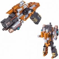 Робот пистолет 2 в 1 Devik Toys K02 Striker Трансформер с 6 мягкими патронами