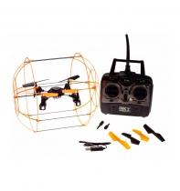 Радиоуправляемый квадрокоптер SkyWalker Aerocraft UFO 4CH 2.4G HM1306 оранжевый