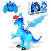 Радиоуправляемый динозавр с крыльями 40 см DINOSAUR ICE STEAL 840A