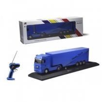 Радиоуправляемый грузовик с прицепом Mercedes-Benz Actros 1:32 blue