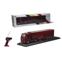 Радиоуправляемый грузовик с прицепом Mercedes-Benz Actros 1:32 red