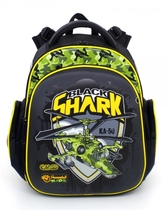 Школьный рюкзак Hummingbird Kids TK1 Black Shark