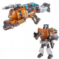 Робот бластер 2 в 1 Devik Toys K05 Megapower Трансформер с 6 мягкими патронами