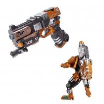 Робот пистолет 2 в 1 Devik Toys K04 Crusher Трансформер с 6 мягкими патронами