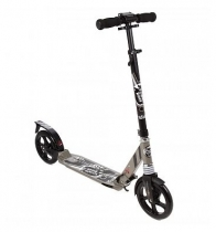 Самокат с амортизаторами Capella Town Rider S204 колёса 200 мм Gray