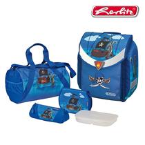 Школьный ранец Herlitz Flexi Plus Pirate с наполнением