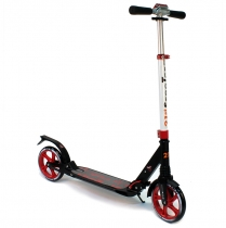 Самокат с амортизаторами 21st scooter колёса 200 мм red