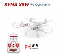 Квадрокоптер радиоуправляемый syma X8W fpv с камерой