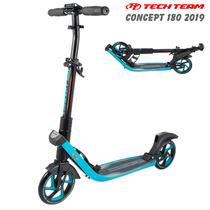 Городской самокат Tech Team 180 Concept 2019 Голубой