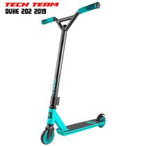 Трюковой самокат TechTeam DUKE 202 2019 Голубой