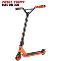 Трюковой самокат TechTeam DUKE 202 2019 Оранжевый
