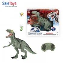 Игрушка динозавр на пульте управления Велоцираптор