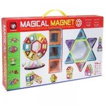 Магнитный 3D-конструктор Magical Magnet 52 детали