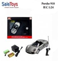 Машинка на радиоуправлении Porsche 918 1:24 Металл