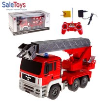 Радиоуправляемая пожарная машина MAN масштаб 1:20