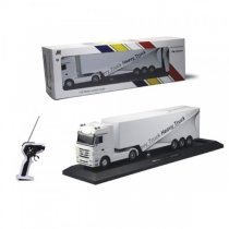 Радиоуправляемый грузовик с прицепом Mercedes-Benz Actros 1:32 white