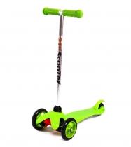 Детский трёхколёсный самокат 21st scooter mini Зелёный