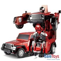 Радиоуправляемый робот-трансформер JQ Troopers Crazy TT665