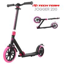 Двухколёсный самокат Tech Team TT Jogger 230 2020 Чёрно-розовый