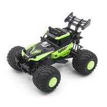 Радиоуправляемая трагги CraZon Green Ghost/Sprint 2WD 1:28 (сменные колеса и корпус)