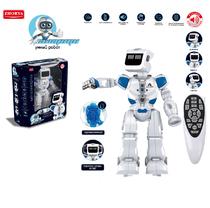 Радиоуправляемый робот Zhorya Эпсилон-ТИ ZYA-A2738 русское озвучивание, эмоции на мониторе, 38 см на аккумуляторе