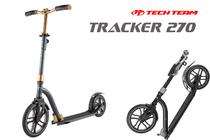 Двухколёсный самокат Tech Team Tracker 270 мм 2020 Сине-золотой