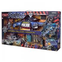 Набор Полиция 2 - большой набор - полицейский вертолет и джип